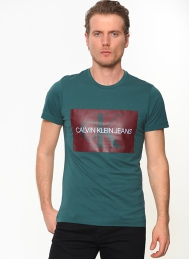 Calvin Klein Tişört Yeşil